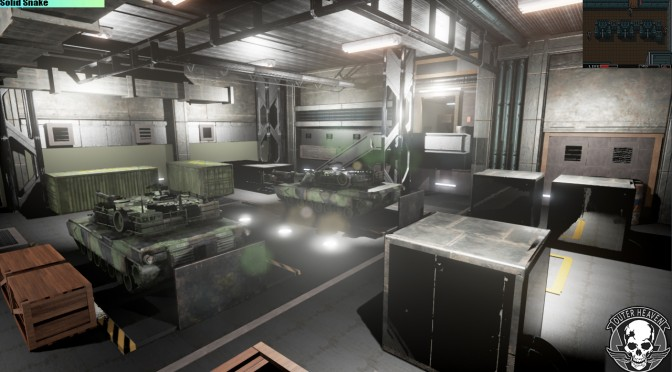 Outer Heaven – Metal Gear Remake In Unreal Engine 4 – Zanzibar Land Tech Demo Available For Download