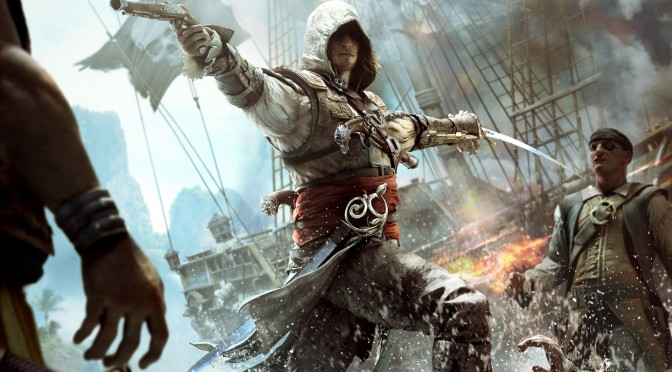 Here are Gothic Remake and Assassin's Creed Black Flag with Reshade Ray Tracing