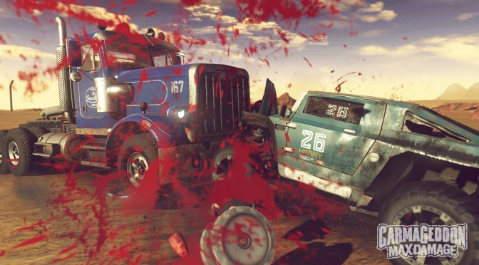 Carmageddon: Max Damage out on Steam, available for free to all owners of Carmageddon: Reincarnation