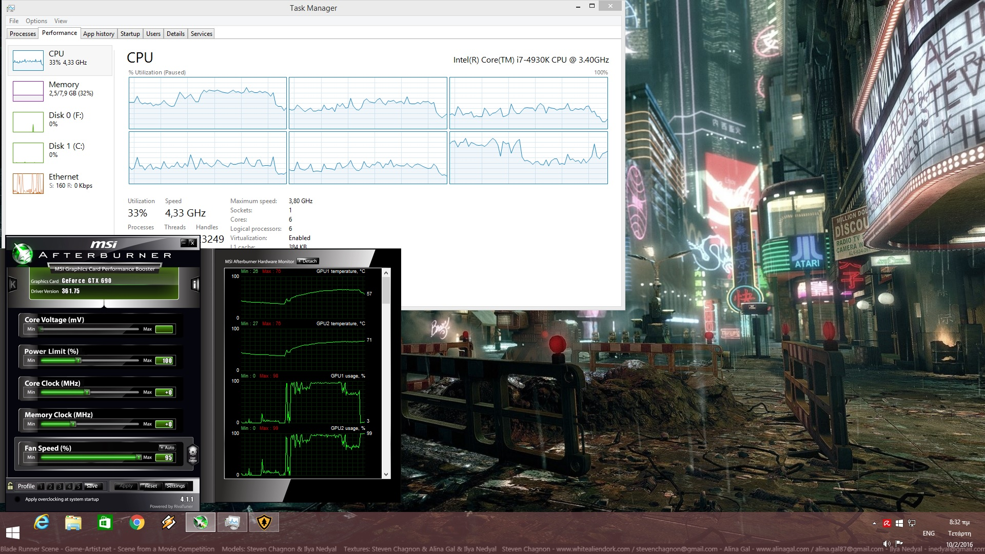 Firewatch CPU Graph