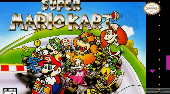 Here Is Super Mario Kart With 101 Players