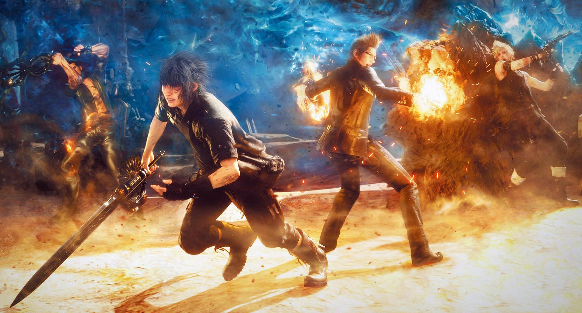 Final Fantasy XV PC screenshots header image