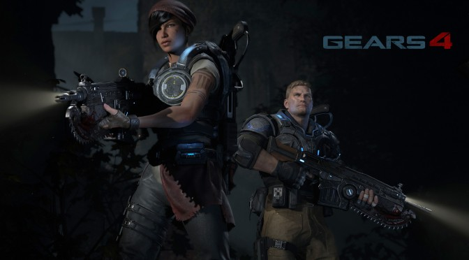 Gears of War 4 receives its largest patch to date, weighting over 29GB in size