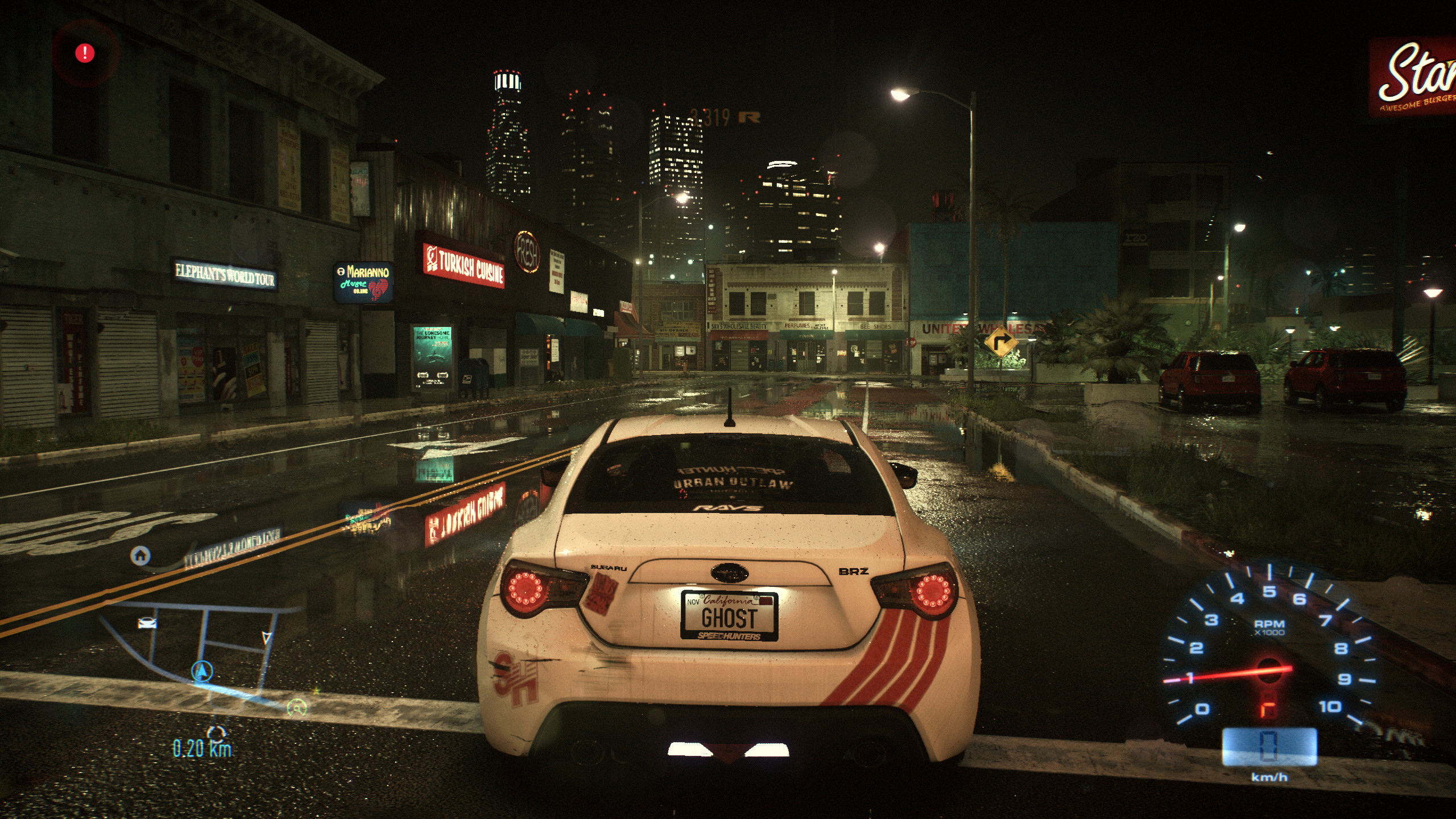 Need for Speed - Ultra versus Low Comparison Screenshots