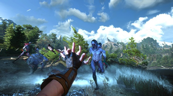 The Witcher 3 First Person