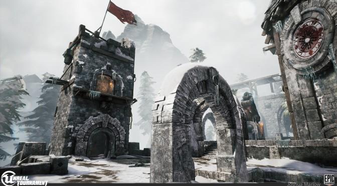 Unreal Tournament – New Screenshots Shocasing Latest DM Map