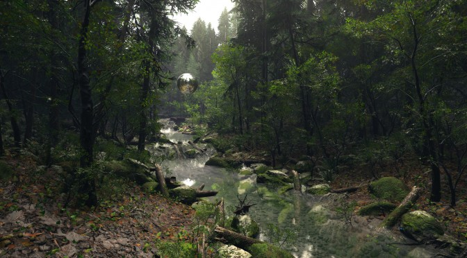 Crytek's Artists Showcase CRYENGINE With New Beautiful Forest Maps