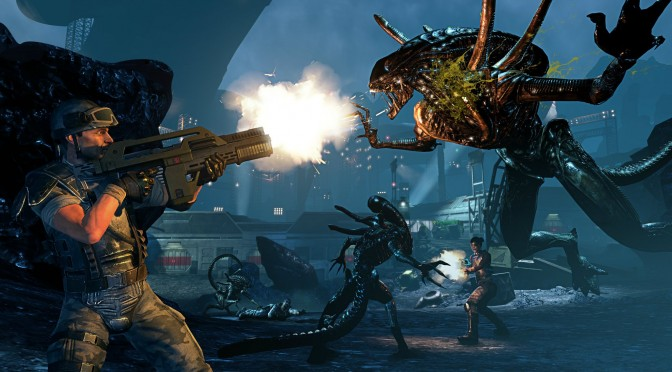 You can significantly overhaul the AI in Aliens: Colonial Marines by simply deleting one letter