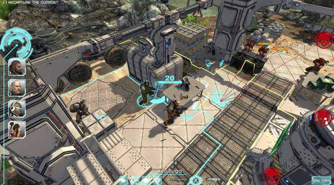 Shock Tactics – New Single-Player Turn-Based Sci-Fi Strategy Game for the PC
