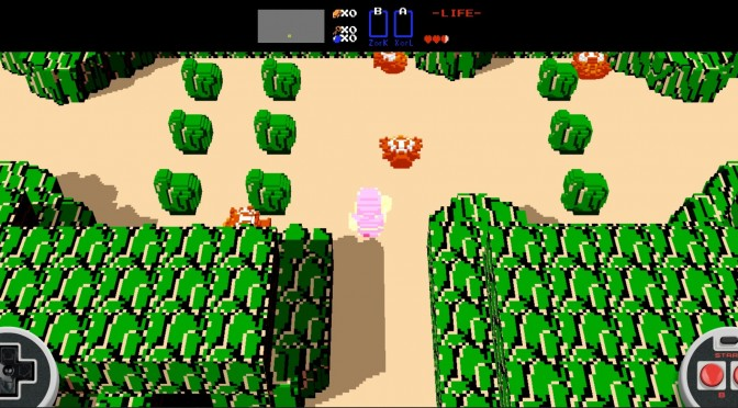Original Zelda Game Recreated With Voxels, Is Playable In Your Browser For Free