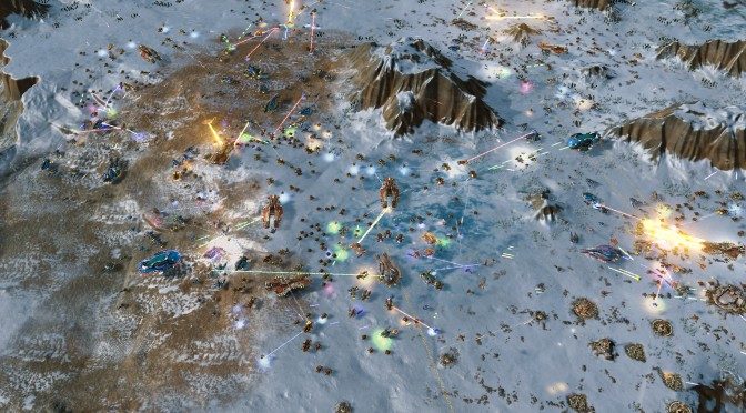 Ashes of the Singularity – New update improves unit movement & physics, adds new maps