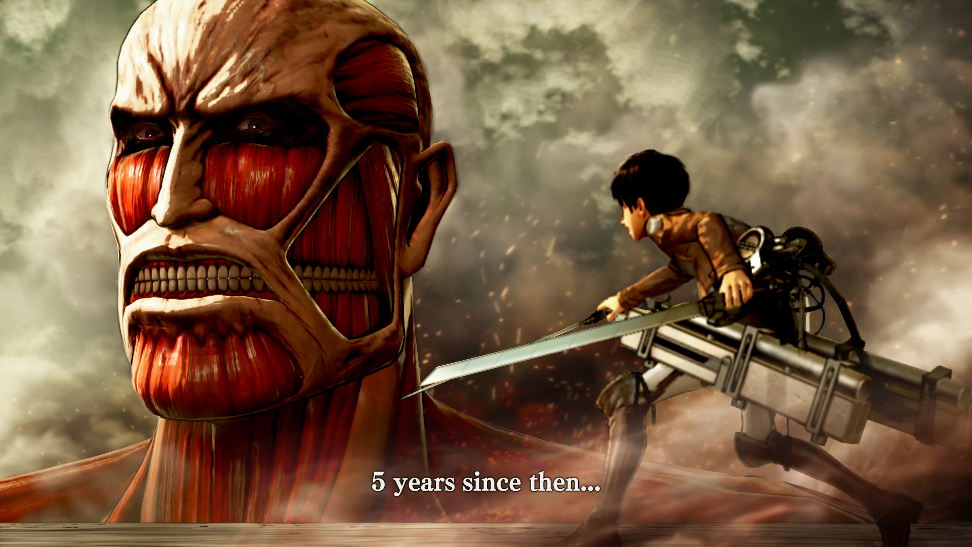 Attack On Titan Wings Of Freedom Official Pc Requirements Revealed