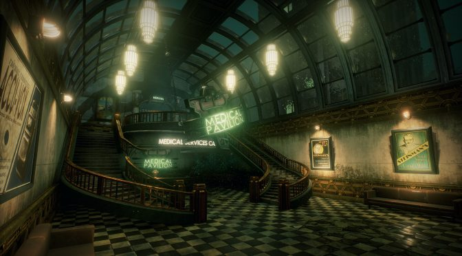 3D Environment Artist Recreates Bioshock's Medical Pavilion In Unreal Engine 4 – Screenshots + Video