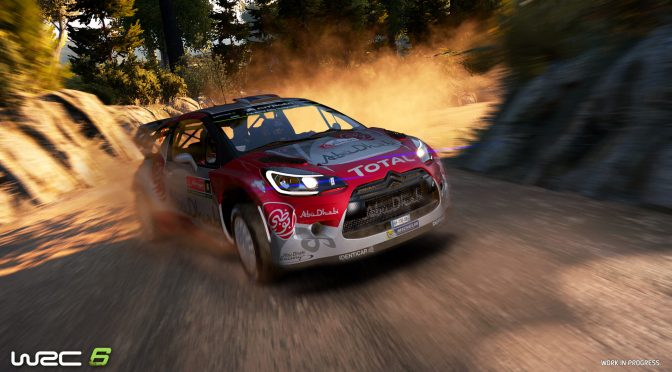WRC 6 gets debut in-game trailer