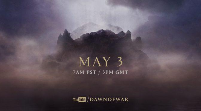 SEGA Teases A New Dawn of War Announcement, Dawn of War 3 Incoming?