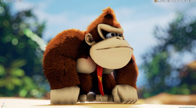 Here is what a new Donkey Kong game could look like in Unreal Engine 4