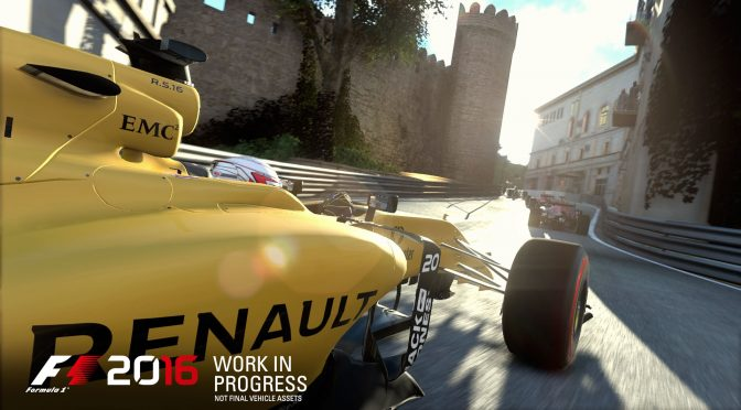 F1 2016 to be released on August 19th