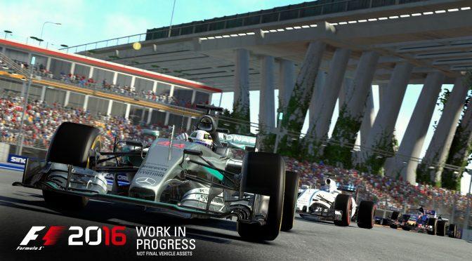 F1 2016 gets new trailer & screenshots