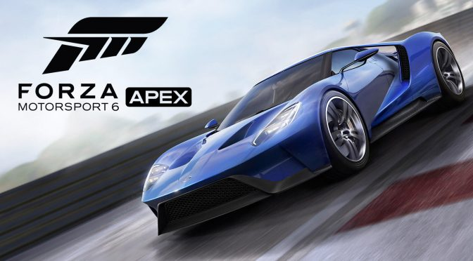 Forza Motorsport 6: APEX is fully released, supports wheels