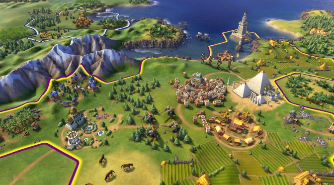 Here is 11 minutes of gameplay footage from Sid Meier's Civilization VI