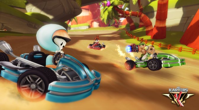 The Karters – Mario Kart meets Crash Team Racing racing game – Hits Steam Early Access on September 28th