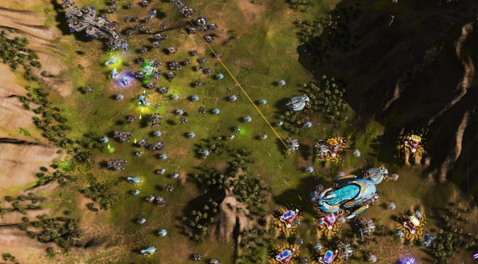 Ashes of the Singularity – Update 1.2 adds newly enhanced Campaign, new units, global chat and more