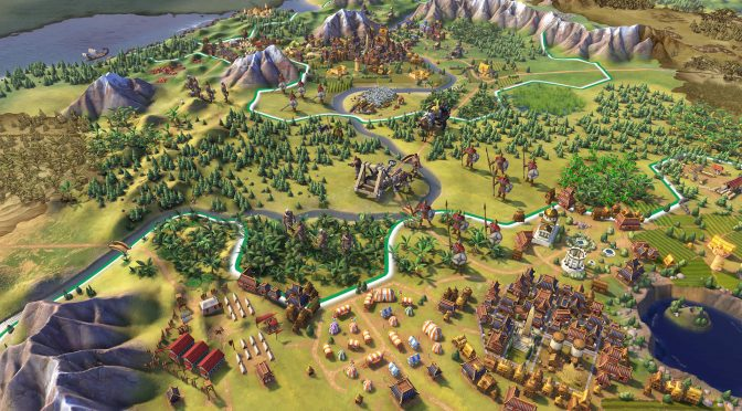New screenshots released for Sid Meier's Civilization VI