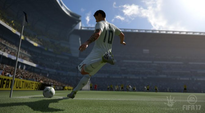 New FIFA 17 trailer shows off improved set-pieces