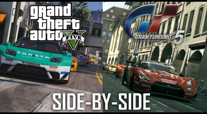 Gran Turismo 5 E3 Trailer recreated in GTA V and looks gorgeous (Side-by-side comparison video)