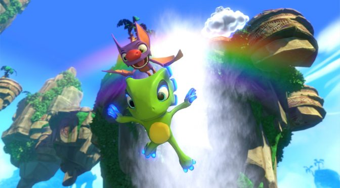 Yooka-Layle has sold one million copies on all platforms