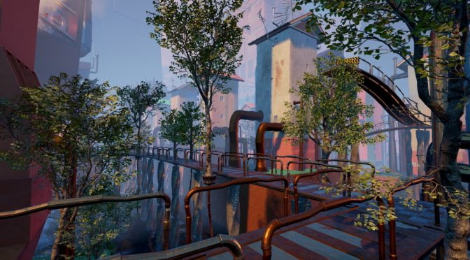 ZED is a new adventure puzzle game from an artist behind Myst and Command & Conquer