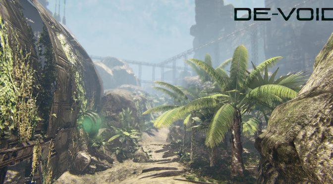 De-Void is a new sci-fi first person adventure game from the creators of Solarix