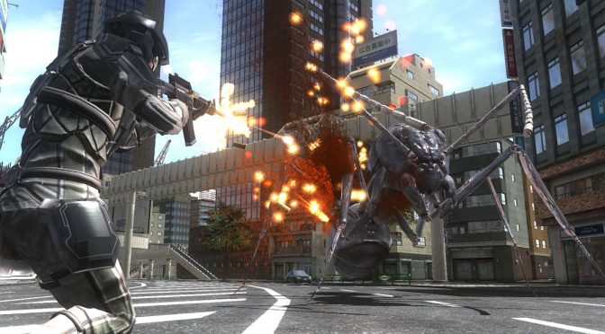 EARTH DEFENSE FORCE 4.1 The Shadow of New Despair is coming to Steam on July 18th