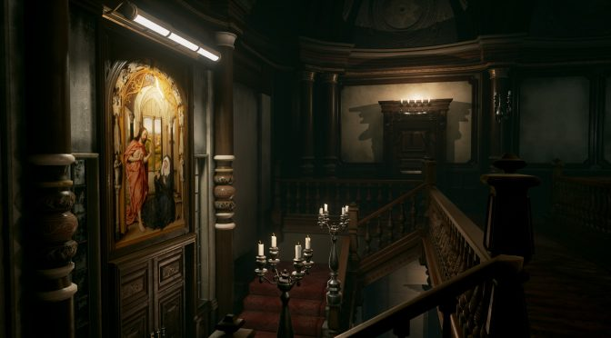 3D artist recreates Resident Evil's Mansion Hall in Unreal Engine 4