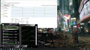 Deus Ex Mankind Divided CPU Graph HT ON