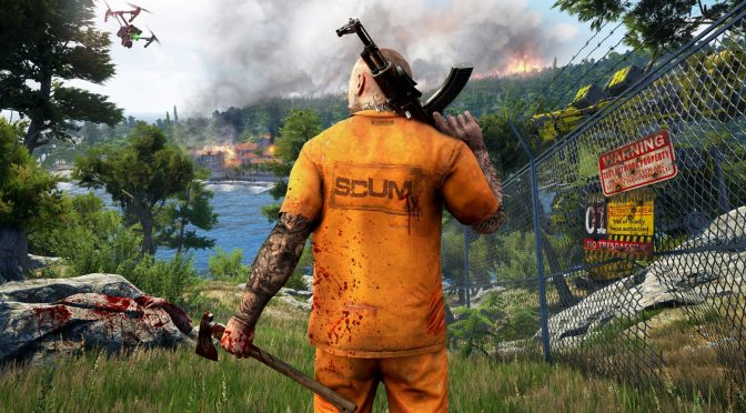 SCUM Maneater update now available, adds female characters, base building, overhauls inventory & more