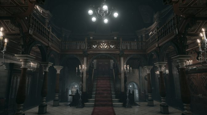 Resident Evil's mansion recreated in Unreal Engine 4