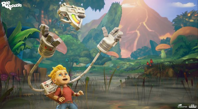 Rad Rodgers: World One is now available on Steam & GOG
