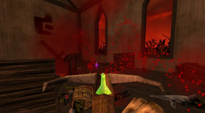 Retro first person shooters, SUFFER and DUSK, are now available on Steam