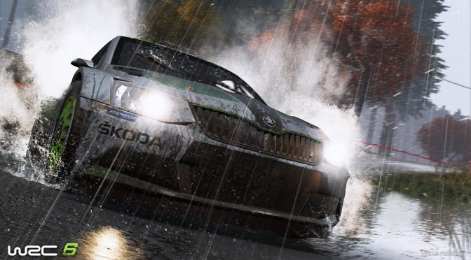 WRC 6 – Official PC requirements + list of compatible steering wheels