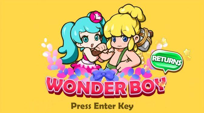 Wonder Boy Returns – New update adds classic 1986 arcade character, enhances visuals