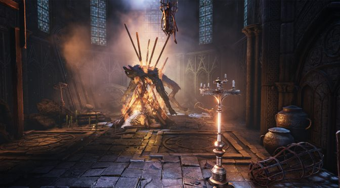 This 3D artist has created a Bloodborne-inspired environment in Unreal Engine 4, and it looks really cool