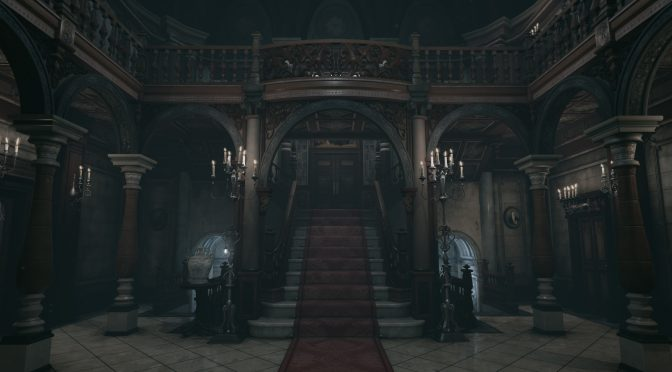 Resident Evil's mansion hall looks great in Unreal Engine 4, available for download right now