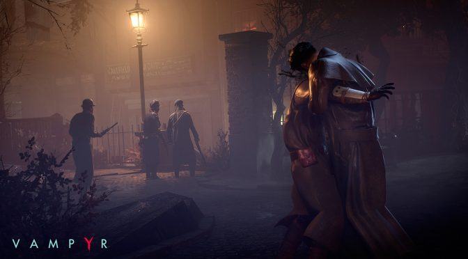 Latest Vampyr update adds Story Mode and Hard Mode, adds NVIDIA Ansel support