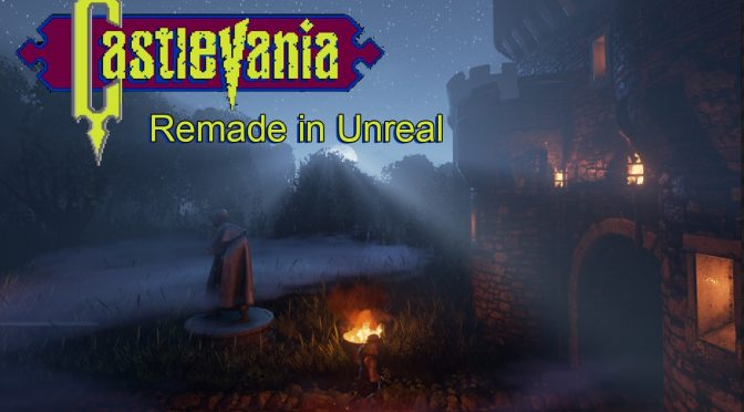 Fan-made Castlevania Remake in Unreal Engine 4 is now available for download