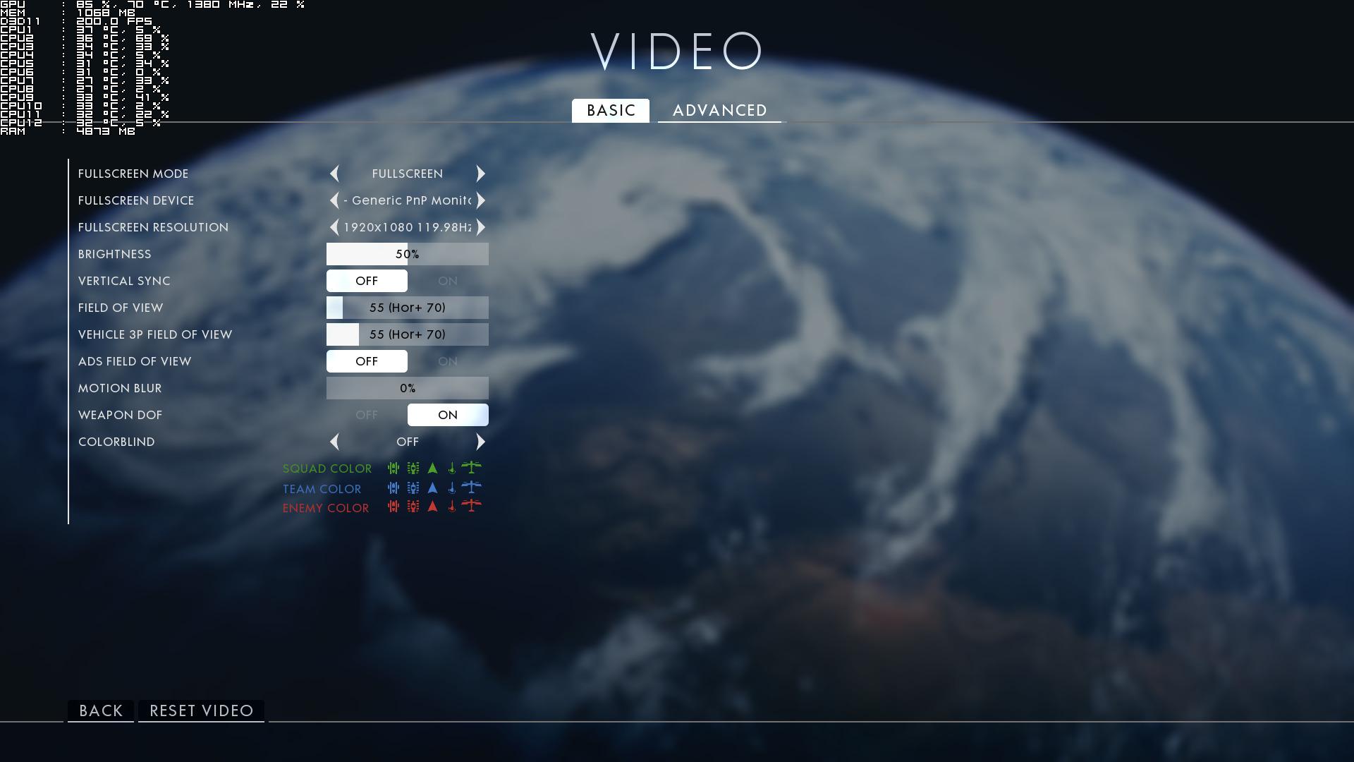 xim4 battlefield 1 profile