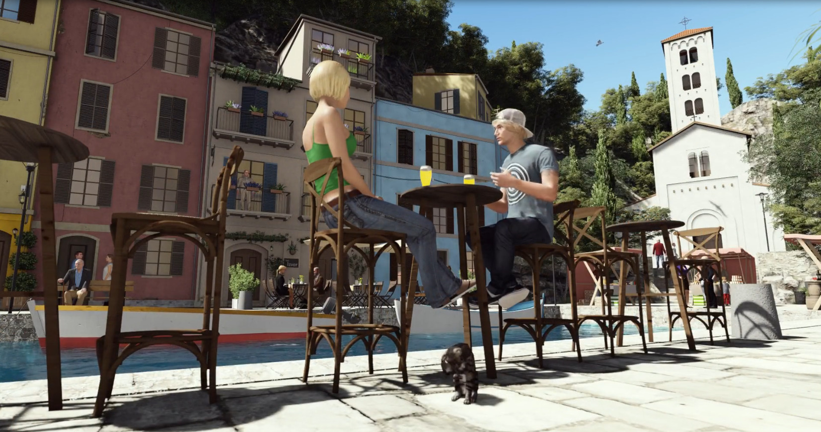 The Real Life is a new virtual life MMO simulator that looks quite