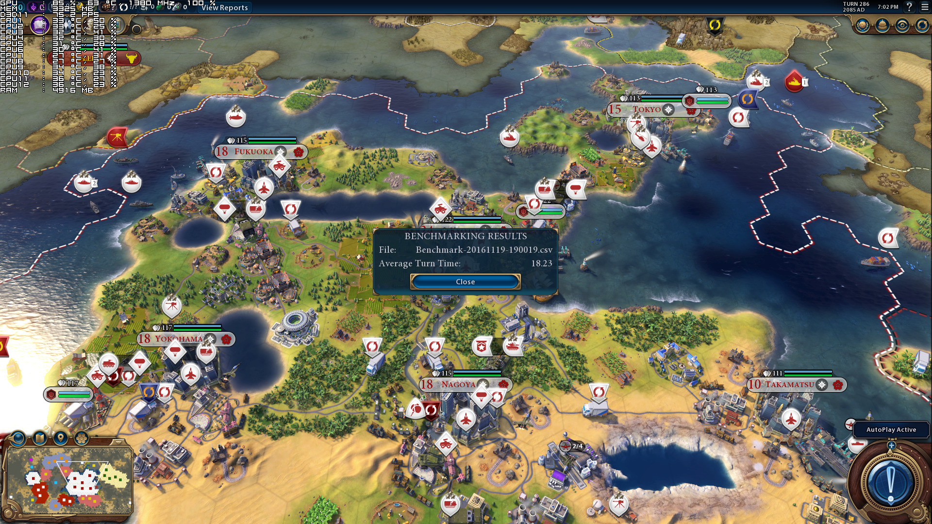 Sid Meier\u0027s Civilization VI \u2013 DX11 versus DX12 performance