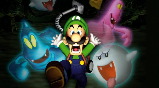 Here is Luigi's Mansion being recreated in Unreal Engine 4