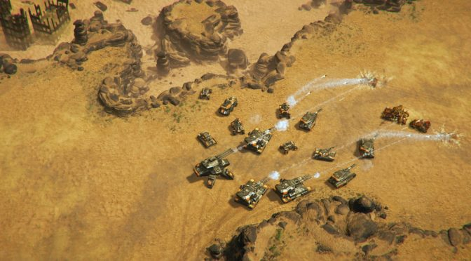 Reconquest is a new real-time strategy game inspired by Command & Conquer, out on December 16th